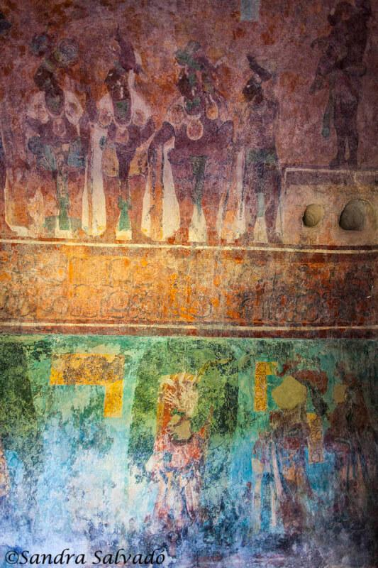 frescos Bonampak Chiapas