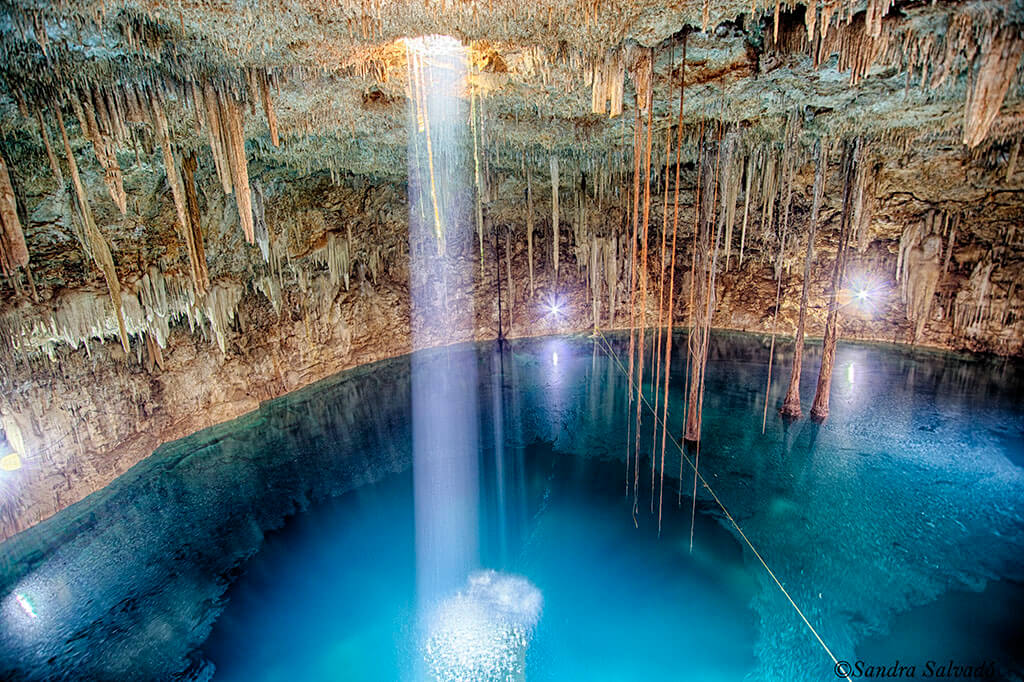 Cenote Agua Dulce Palomitas
