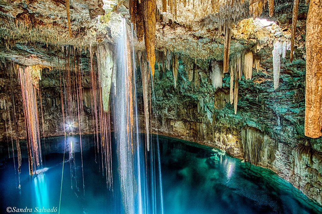 cenote agua dulce yalcoba