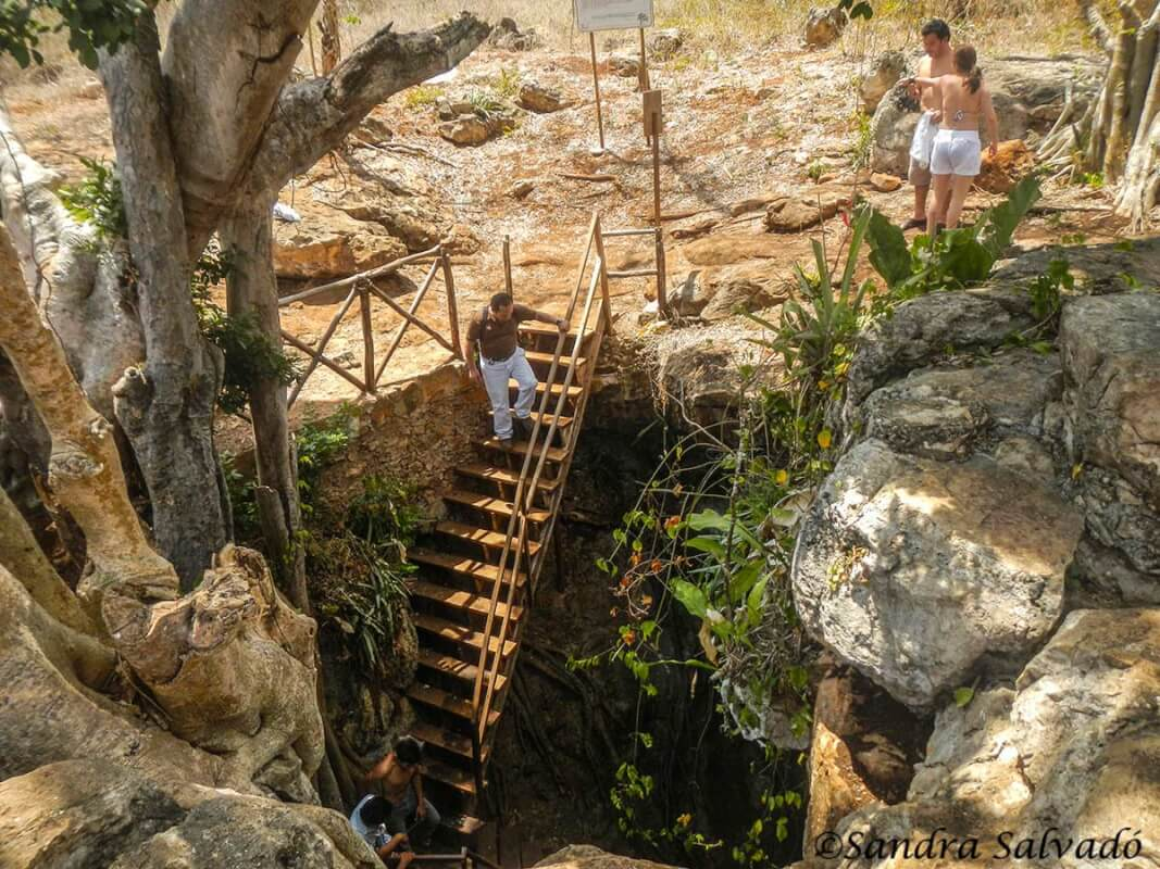 Descubre el cenote Kankirixche en Abalá, Yucatán 1