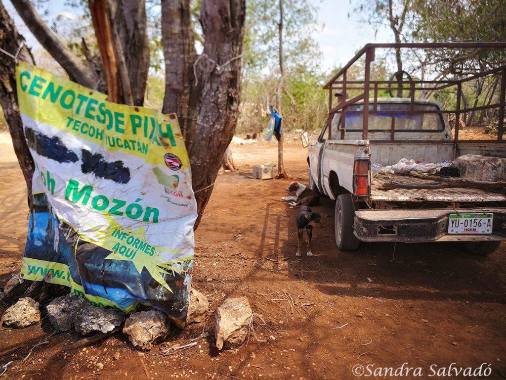 Los 3 cenotes Pixyah: Noh Mozon, Nah Ya y Suhem 1