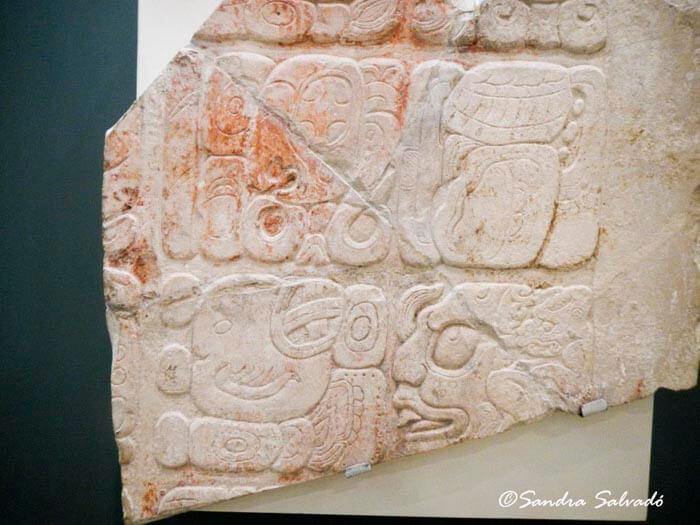 Maya epigraphy Mayan Museum Cancun