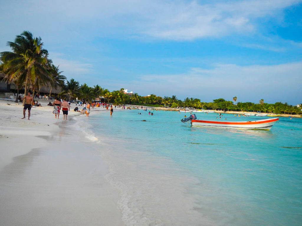 mejores playas riviera maya