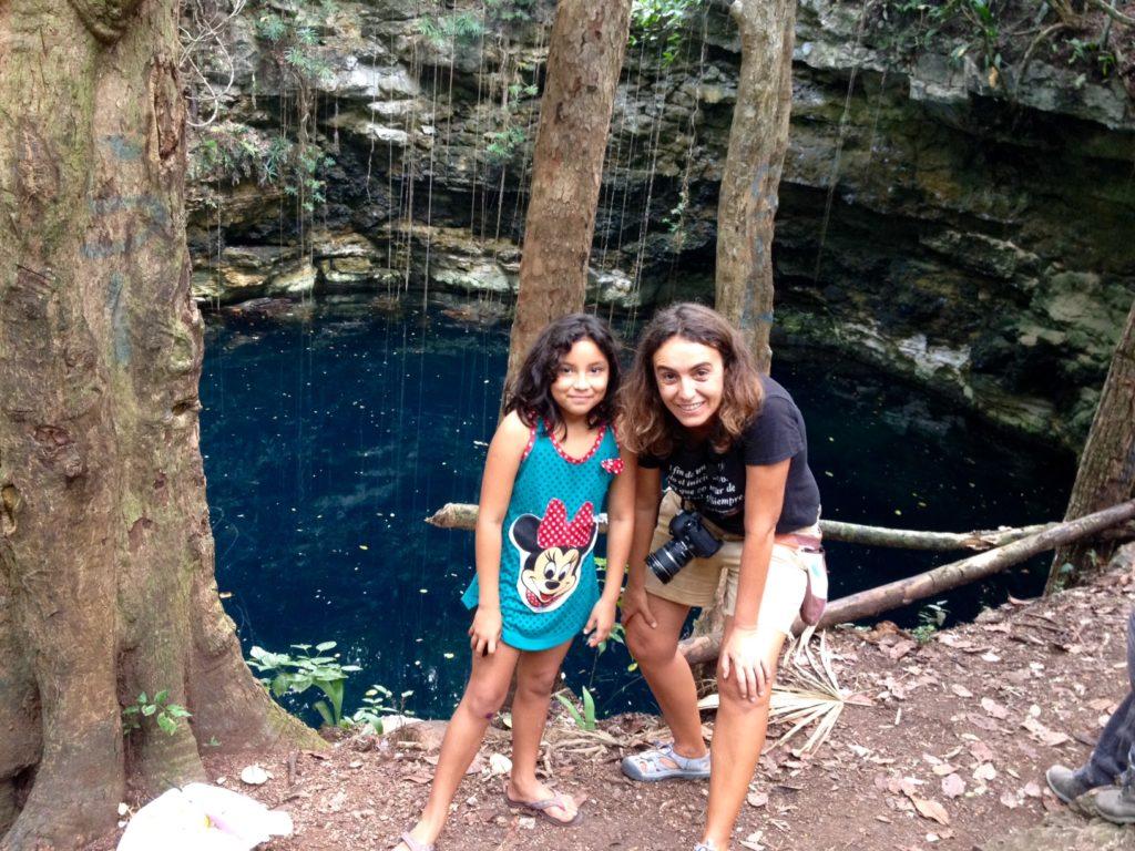 Cenote Hamtun, secrets next to the 2 road