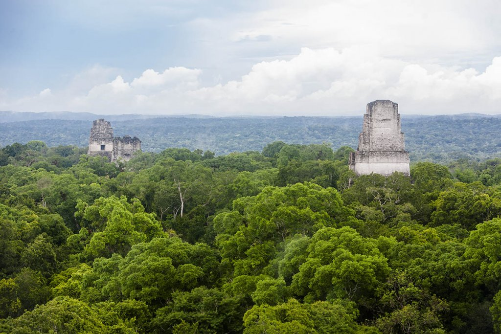 ancient Mayan cities