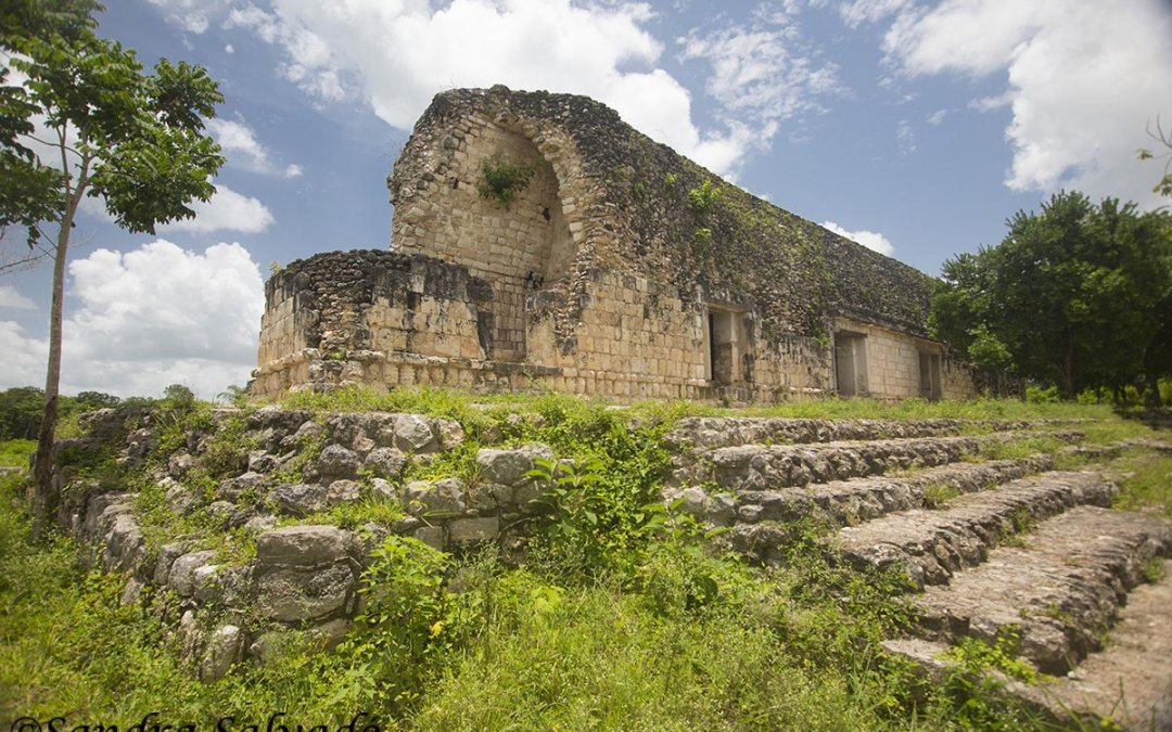 Archaeological zone Kuluba, Yucatán