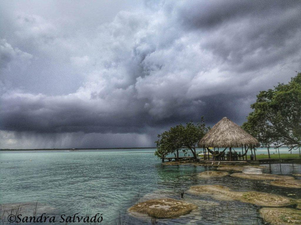 Hoteles en Laguna Bacalar, Quintana Roo, México.