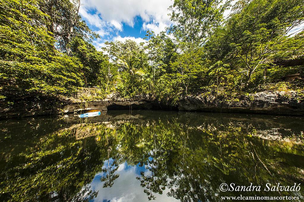 Cenote Popol Vuh, Quintana Roo. México.