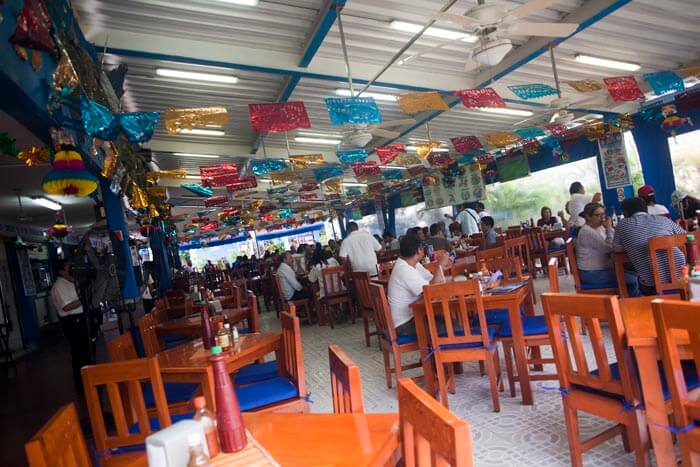 Cancun eyebrow restaurant