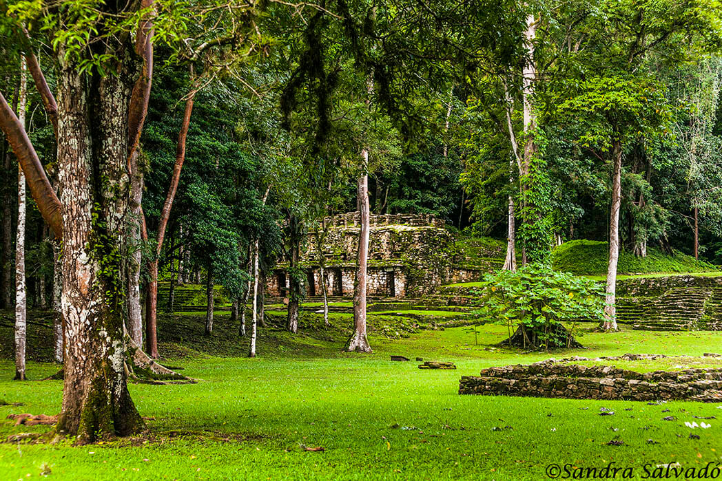Archaeological zone Yaxchilan, Chiapas