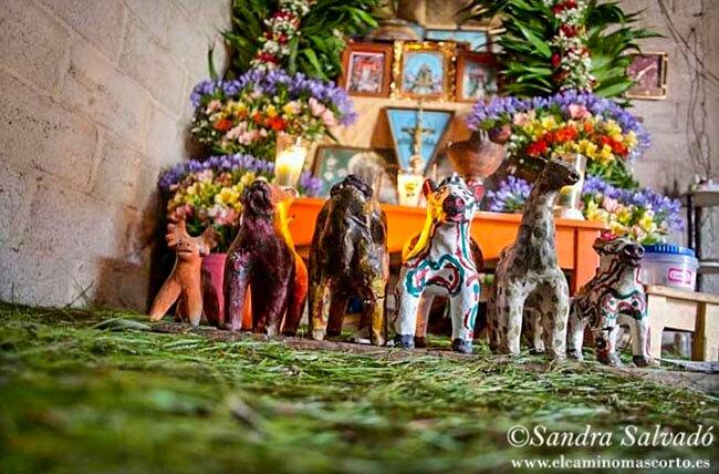 Altar religión maya