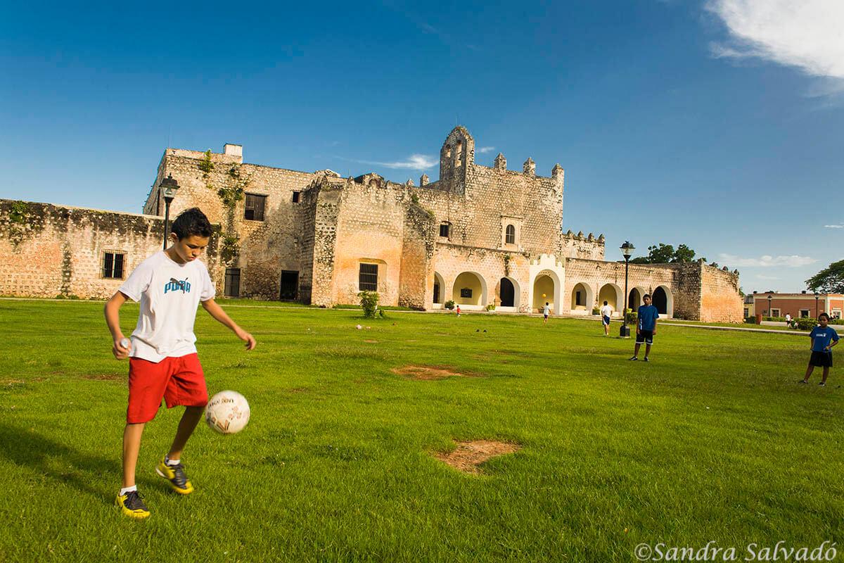 Templo de San Bernardino y Convento de Sisal s.XVI, Valladolid, Yucatan