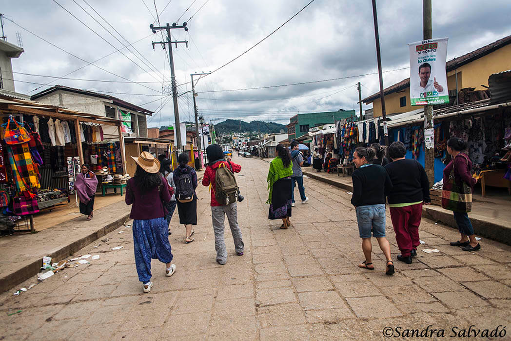 San Juan Chamula, Chiapas, México. Comercios.