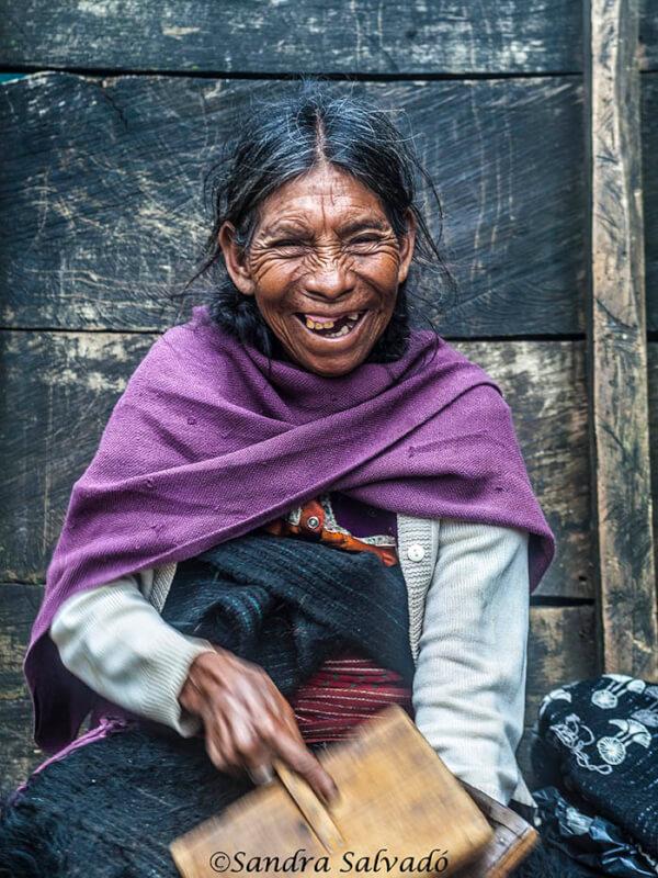mujer maya tzotzil, Chiapas, México.