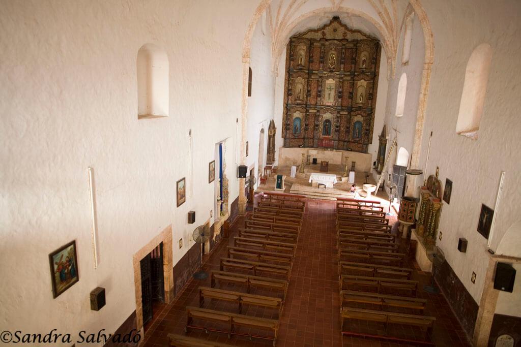 Templo de San Bernardino y Convento de Sisal s.XVI