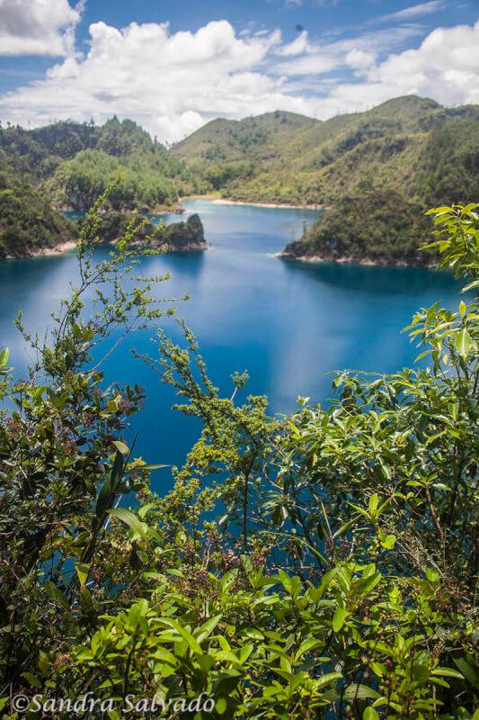 Montebello Lagoon, Chiapas, Mexico.