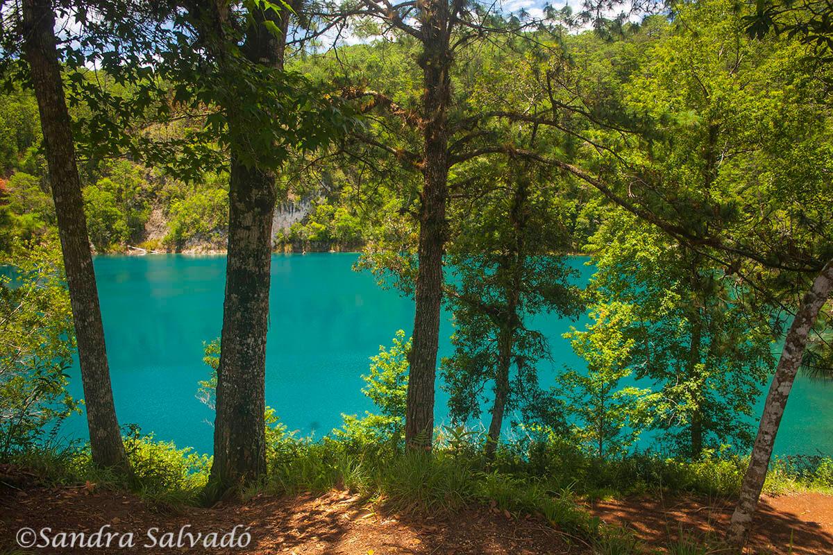 Lagoons of Montebello, Chiapas, Mexico.