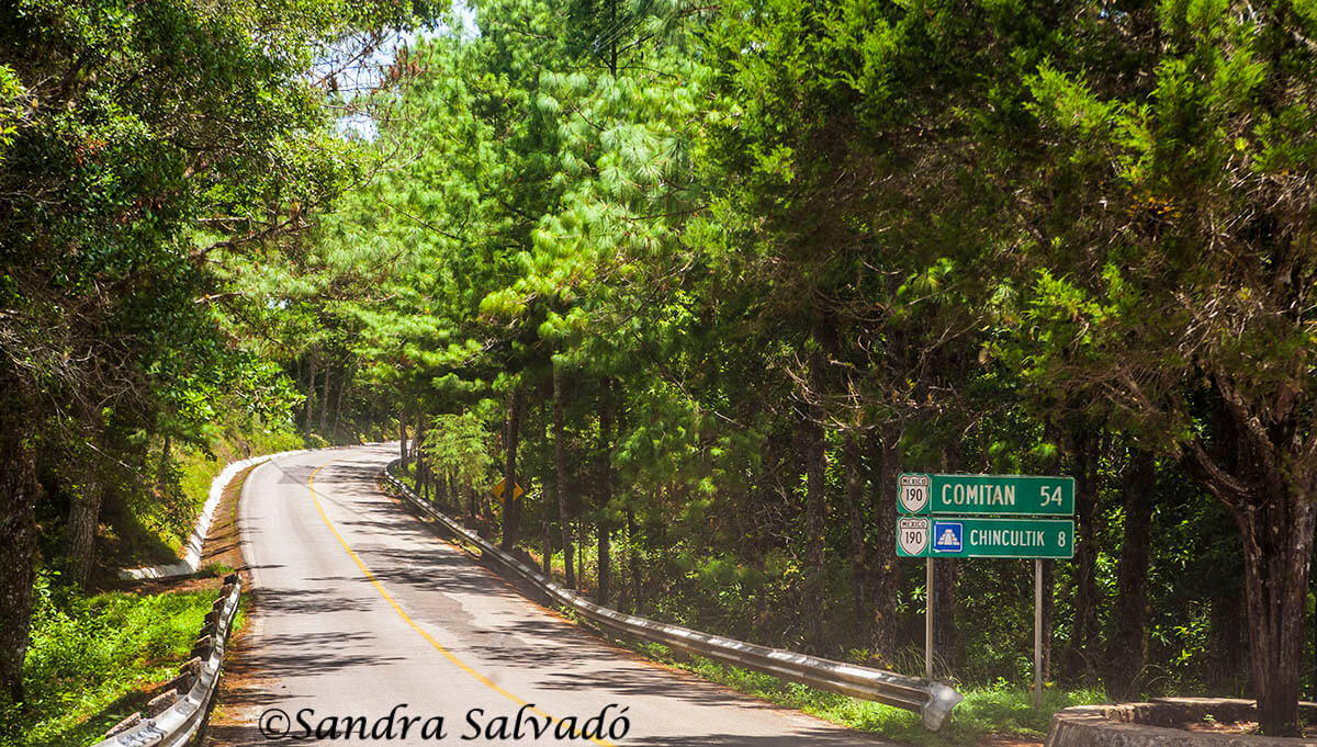 En ruta a Comitán. Chiapas, México.