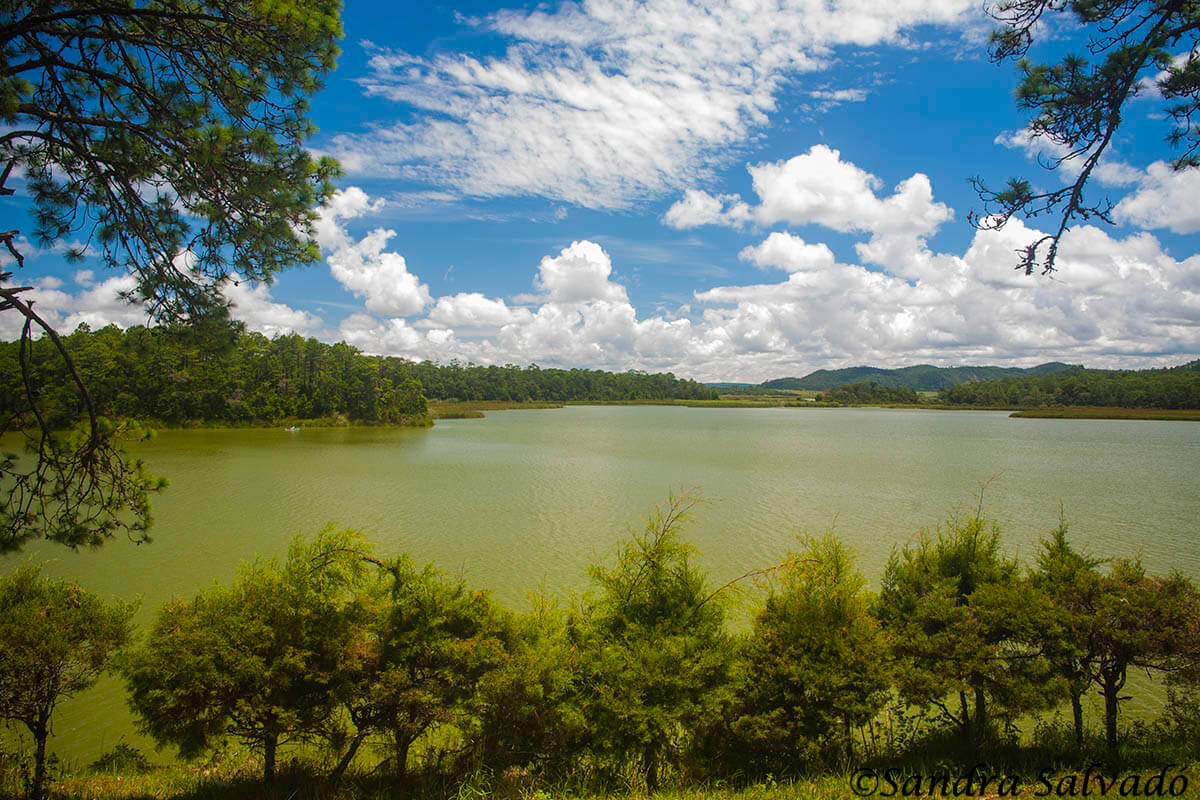 Montebello Lagoons, Chiapas, Mexico.