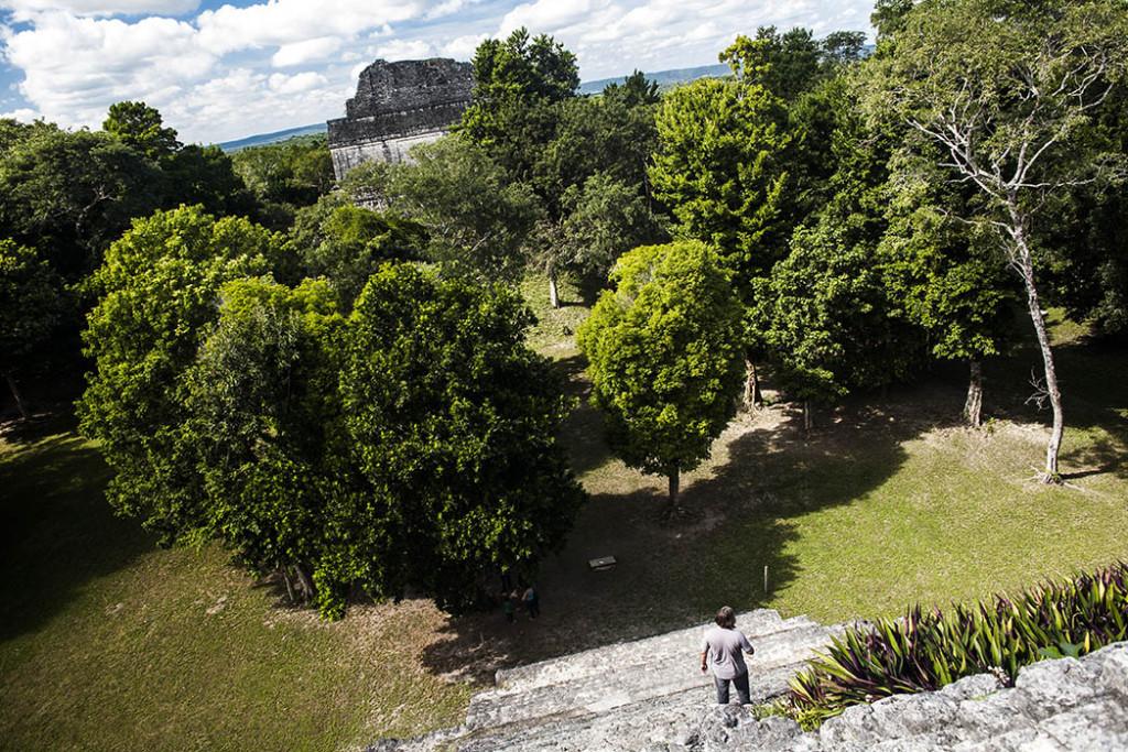 Mayan archeological zone