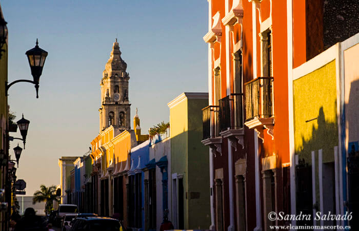 Campeche, la colorida ciudad colonial