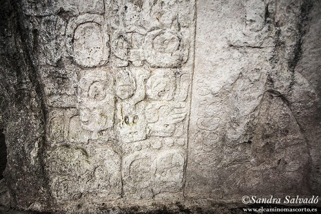 Becan Maya epigraphy