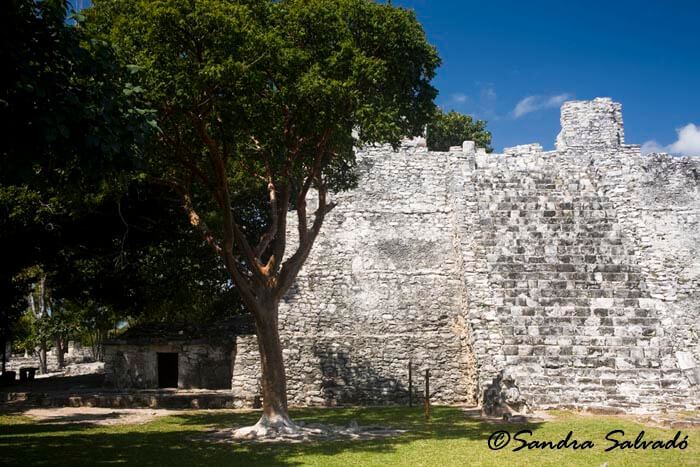 El Meco Archaeological Zone, Cancun, Mexico.