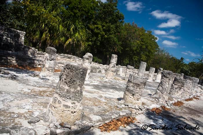 The Meco Archaeological Site, Cancun, Yucatan Peninsula, Mexico