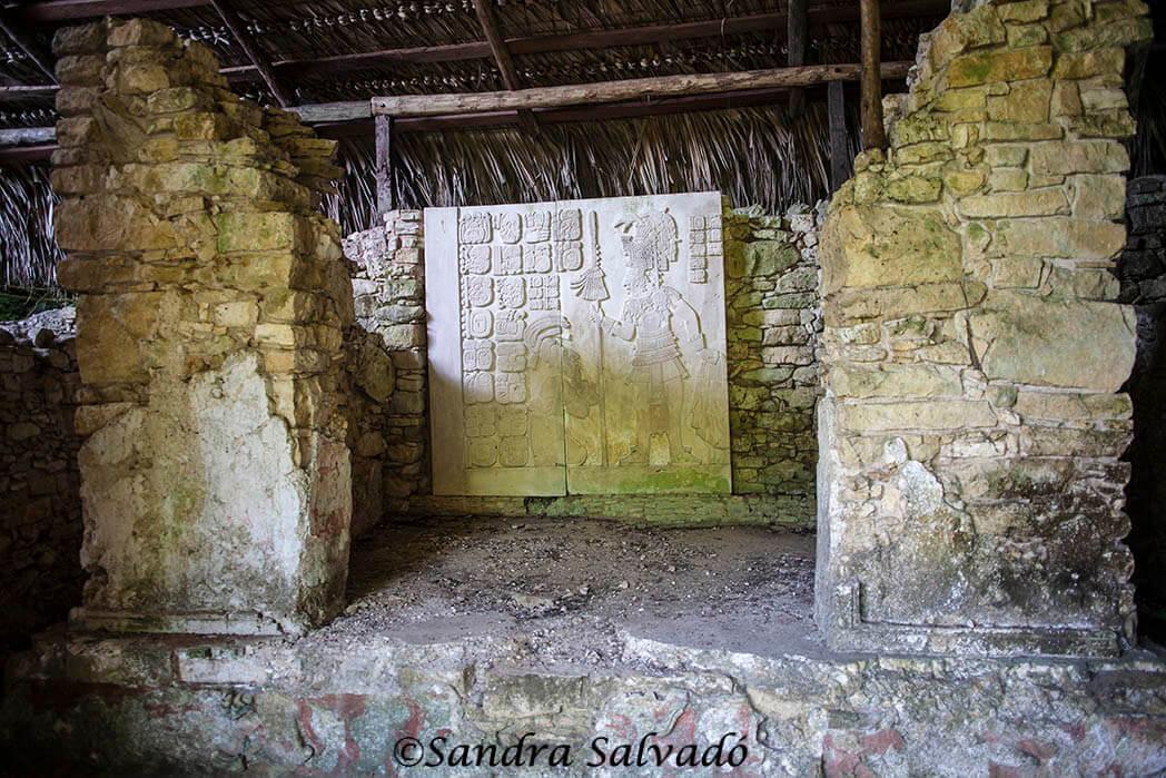 Vestigios mayas en Palenque, Chiapas, México.