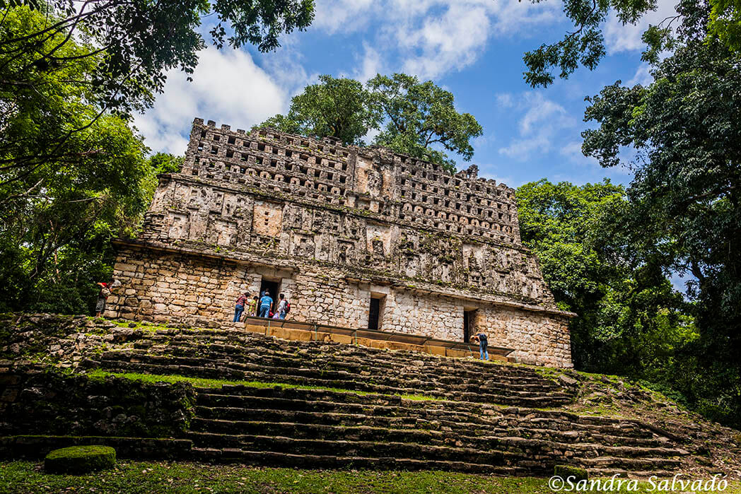 archaeological zone yaxchilan Chiapas