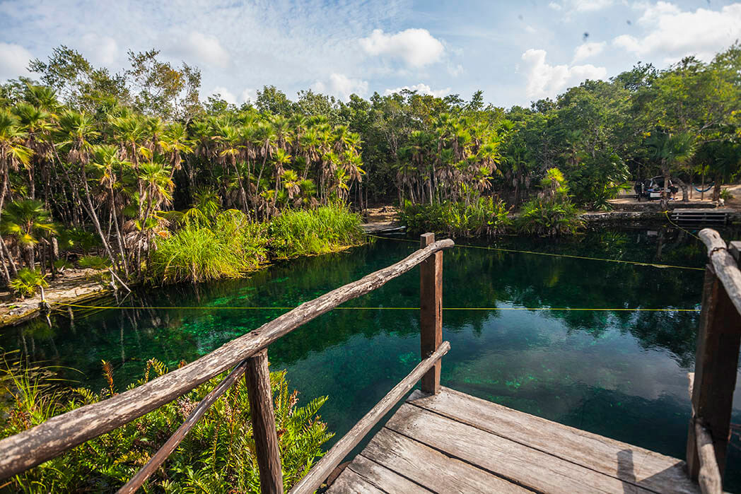 Cenote Cristal, haven of peace in Tulum