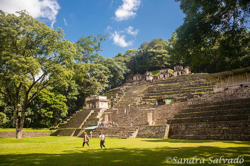 Zona arqueológica Bonampak, Chiapas, México.