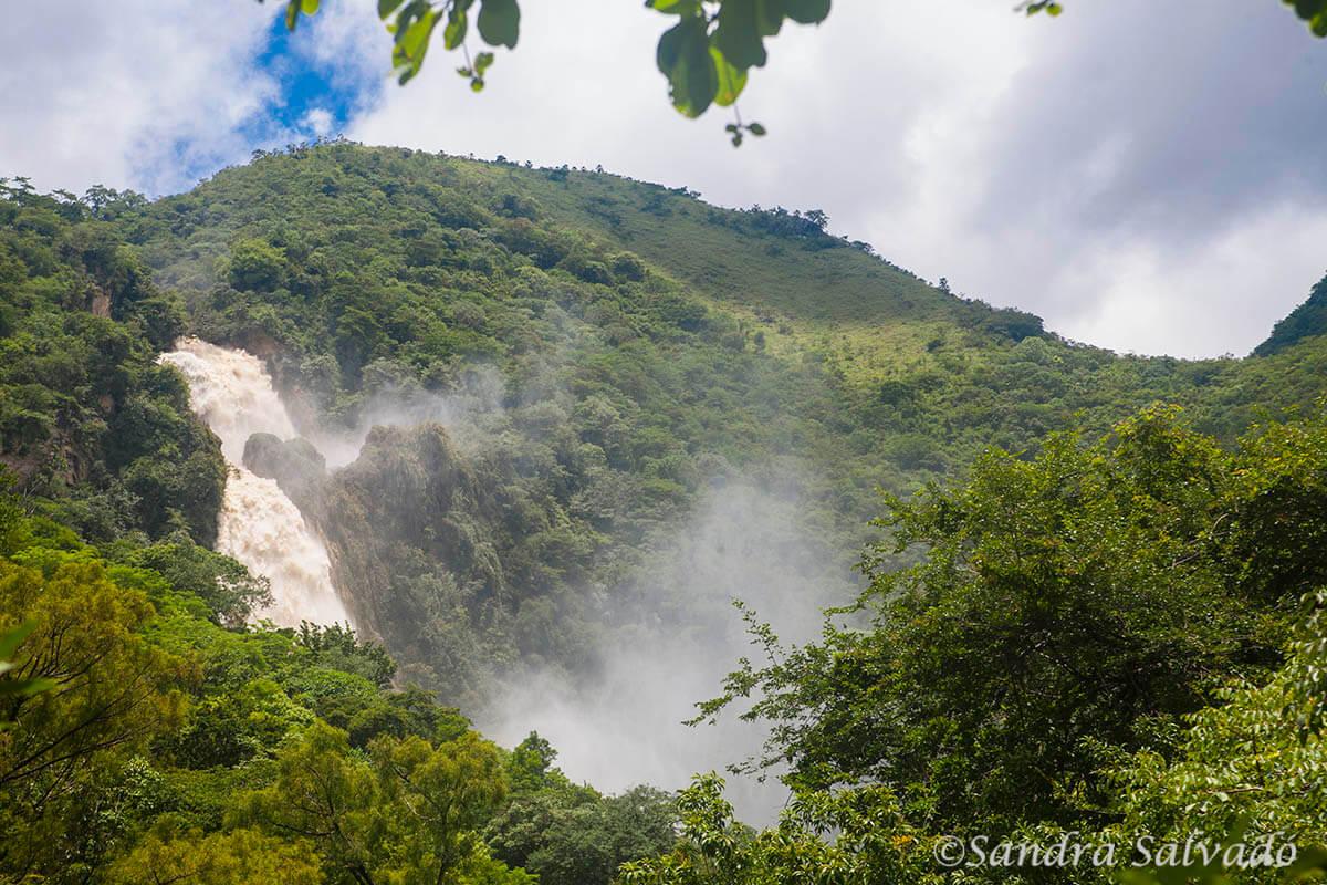 Cascada del Chiflón, Chiapas, México.