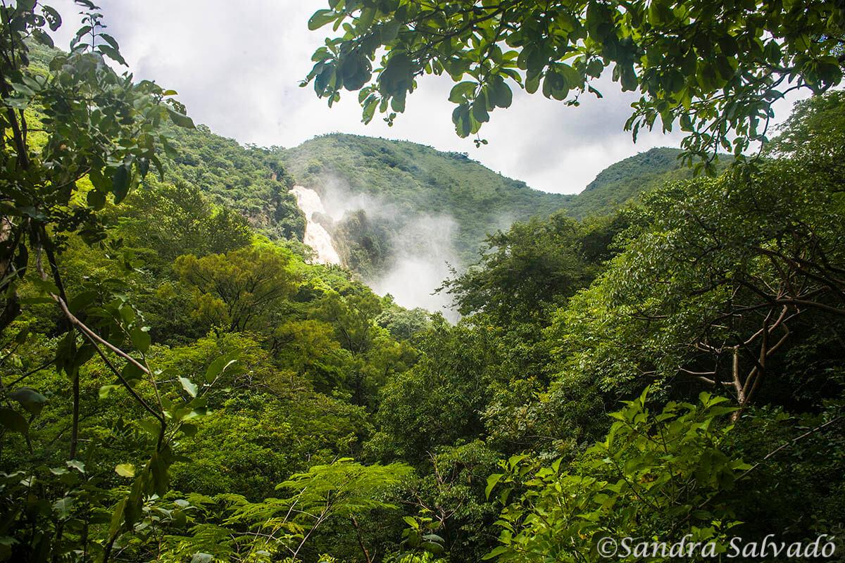 Cascada de Chiflón, Chiapas, México.