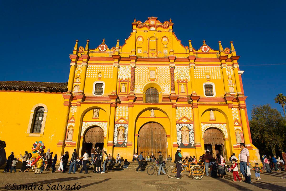 Catedral San Cristóbal de las Casas, Chiapas.