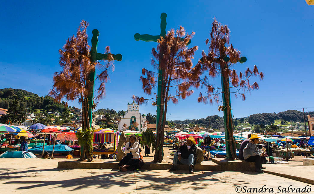 San Juan Chamula, the magic of religious syncretism