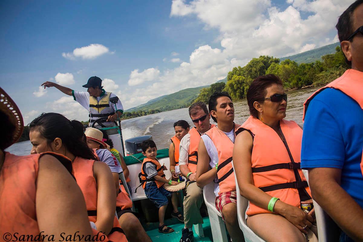 Tour en lancha al cañón del Sumidero, Chiapas, México
