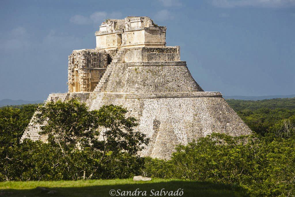 Archeological site Uxmal, Yucatán, Mexico