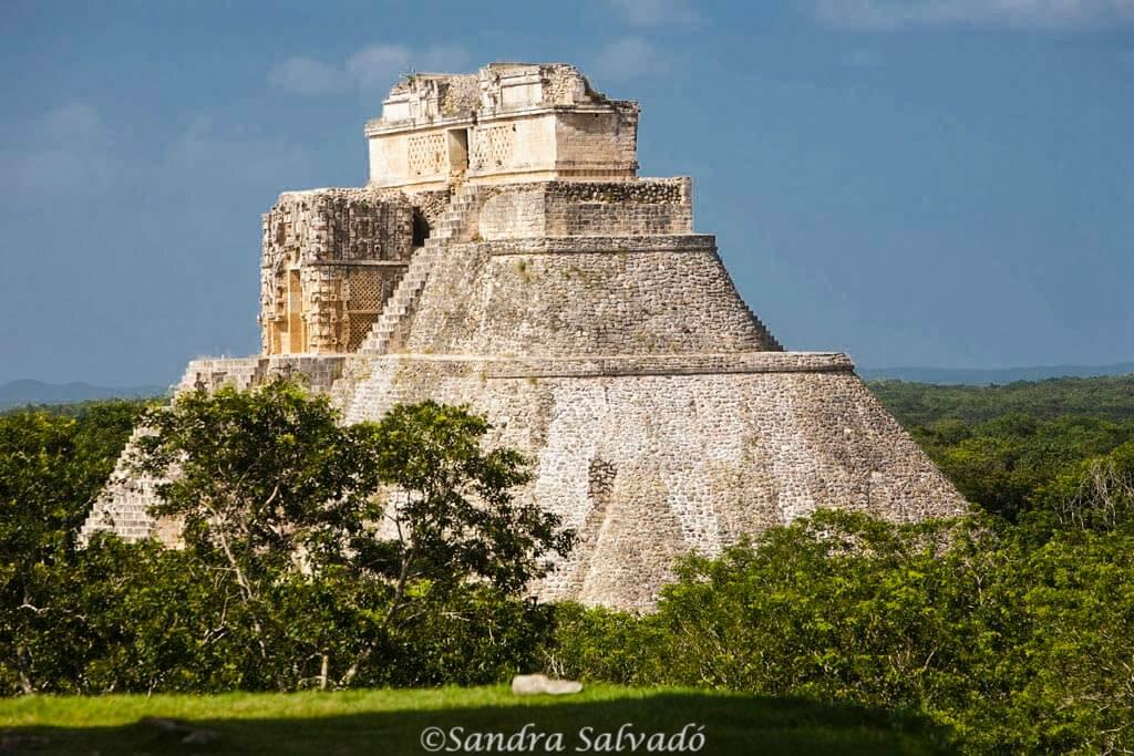 Archeological site Uxmal, Yucatán, México
