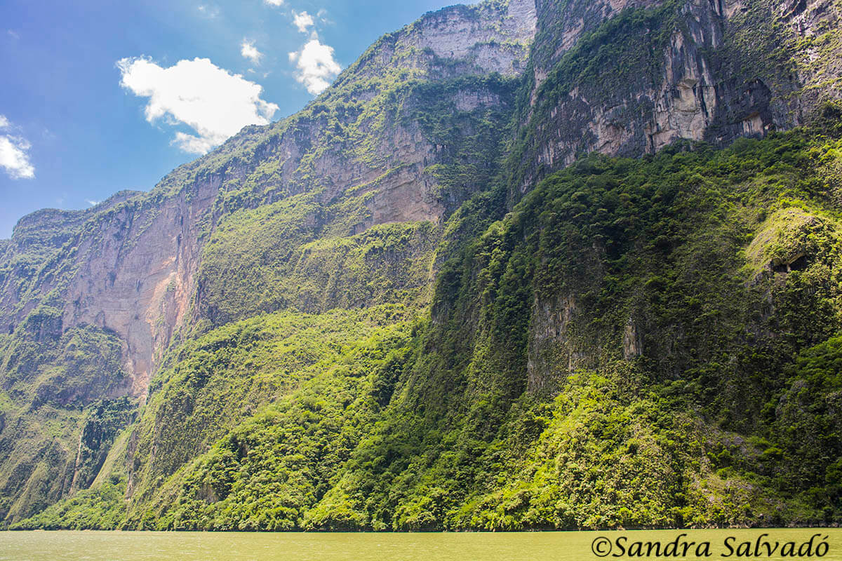 Chiapas, el cañón del Sumidero. México.