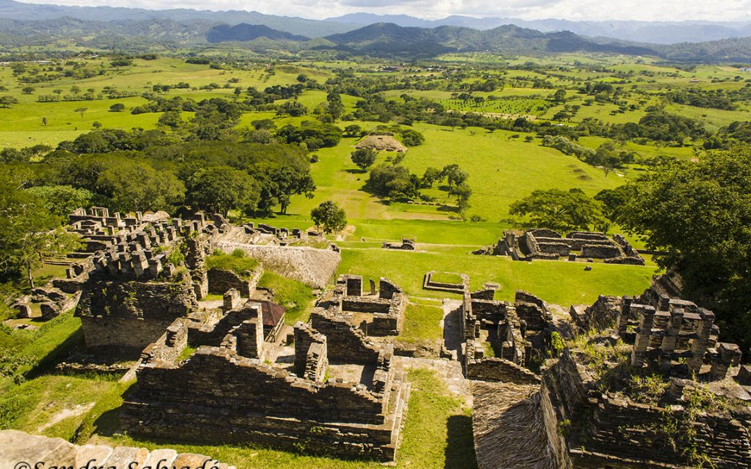 Toniná archaeological zone, Chiapas