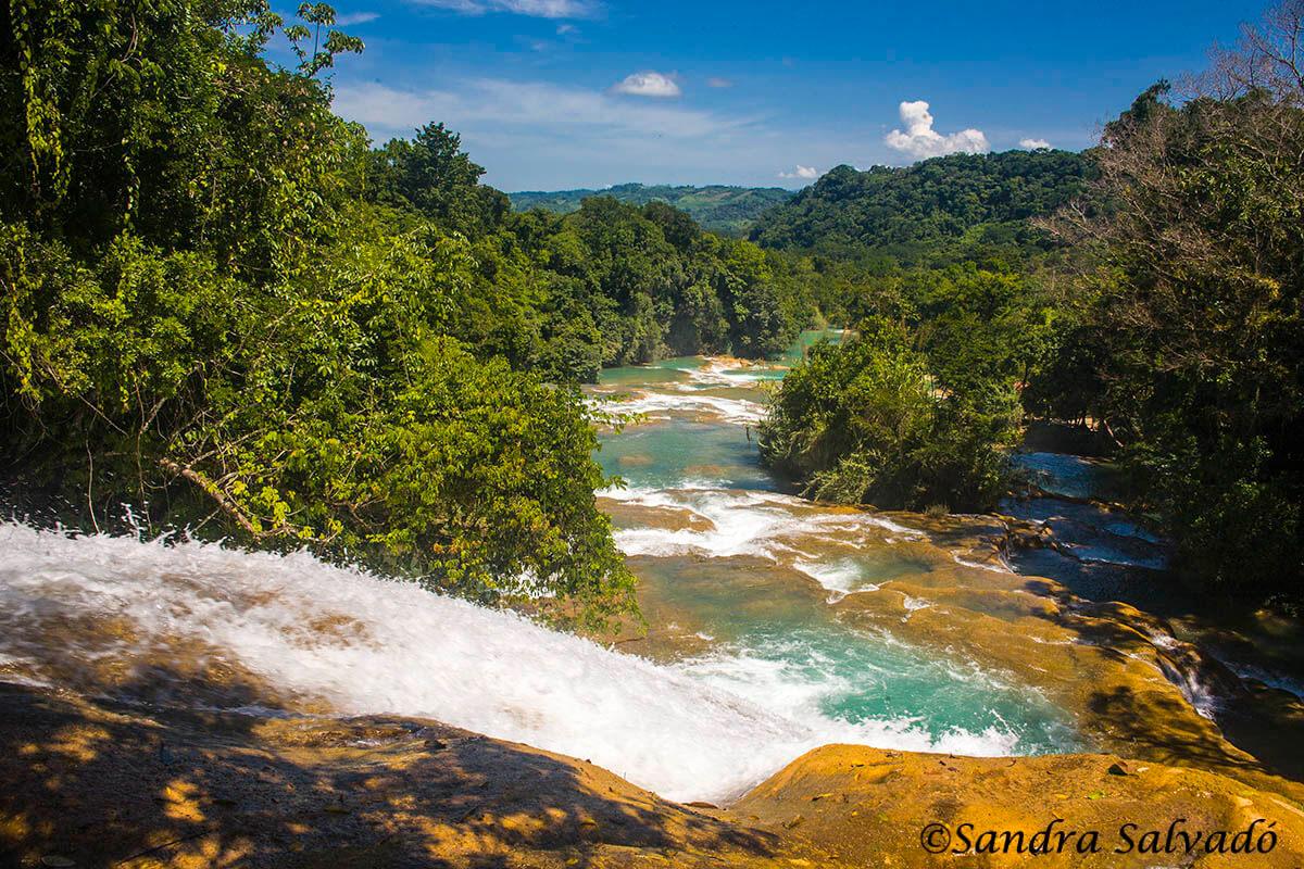 Agua Azul pools, Chiapas, Mexico.