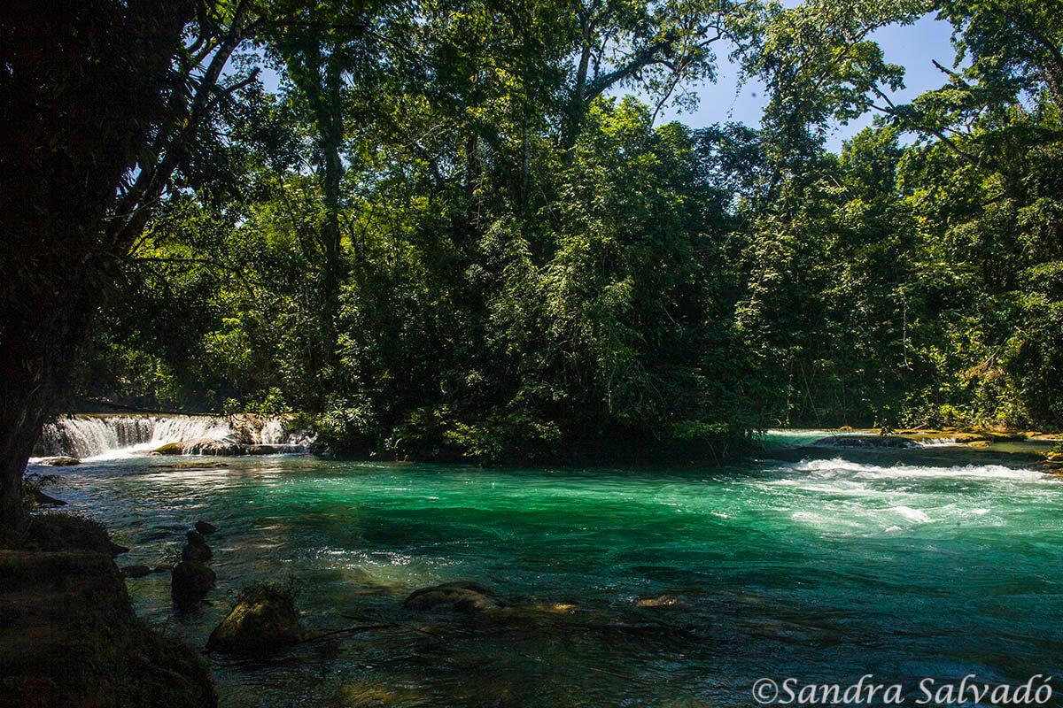 Agua Azul, Chiapas, Mexico.