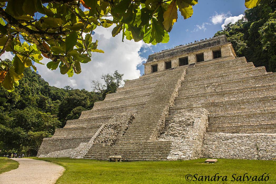 Temple inscriptions. Palenque, Chiapas, Mexico.