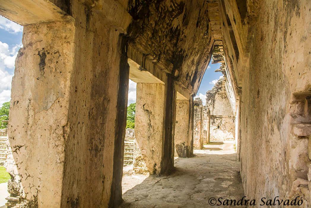 Mayan ruins Palenque, Chiapas, Mexico.
