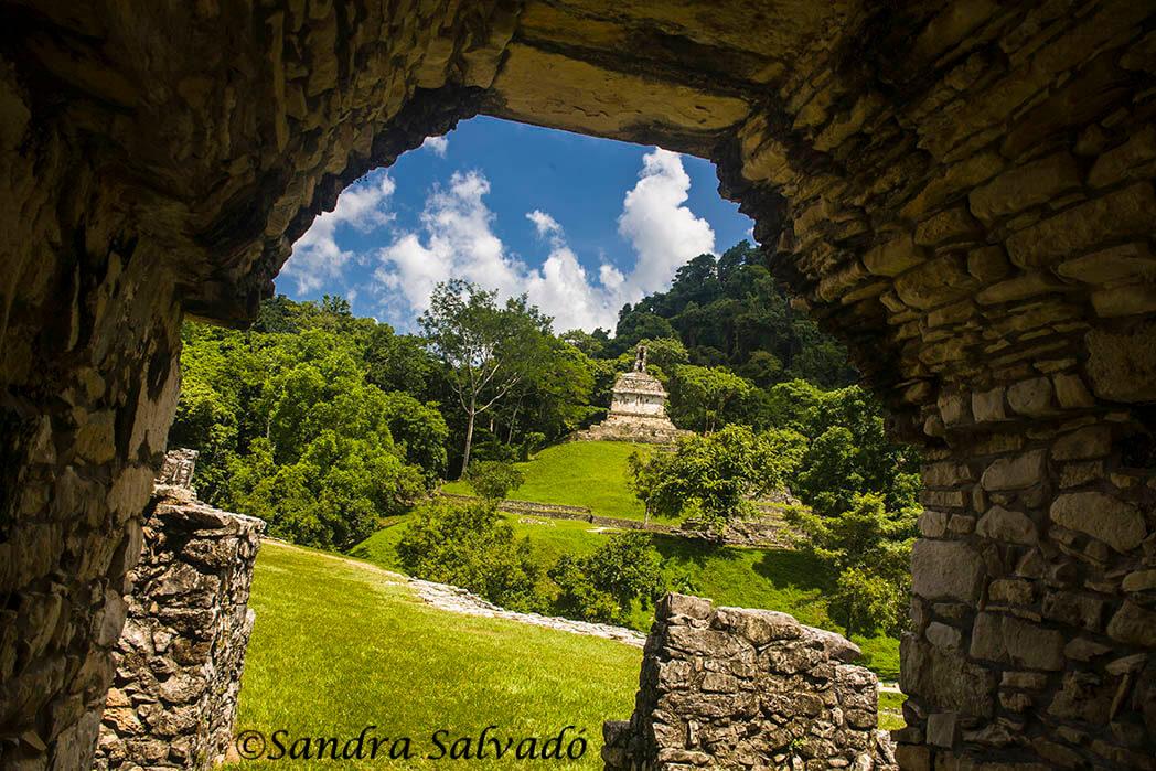 Palenque archeological zone. Chiapas Mexico
