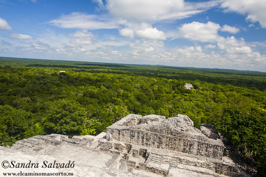 Archeological site Calakmul, Yucatan Peninsula, Mexico.