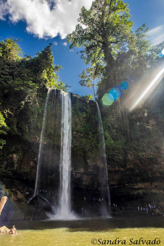 Misol-Há Waterfall, Chiapas, Mexico.