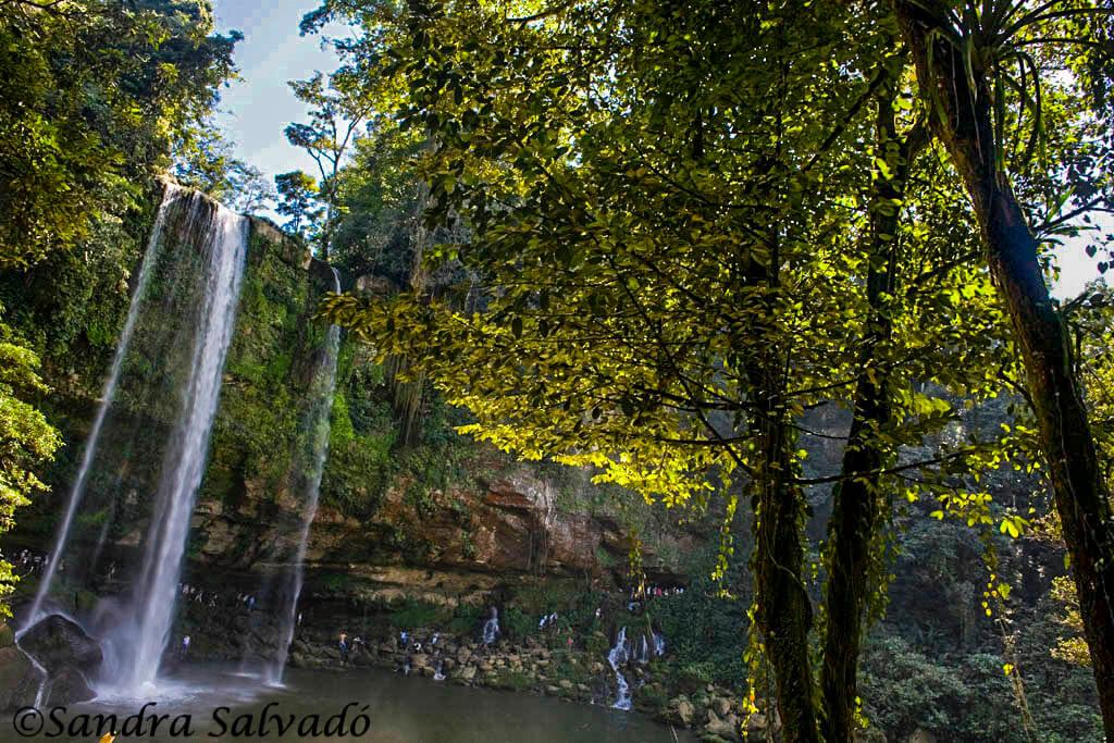 Cascada Misol há, Chiapas, México.