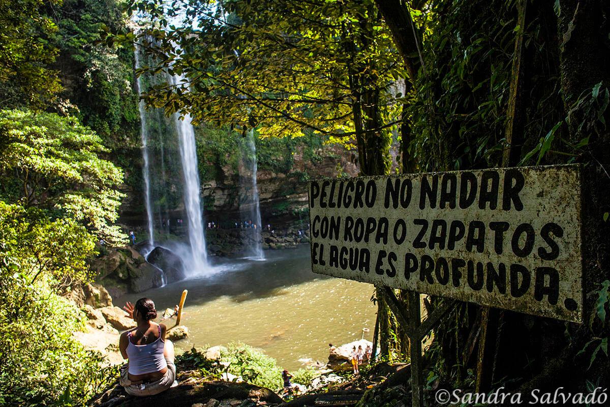 Misol-ha water fall, Chiapas, Mexico.